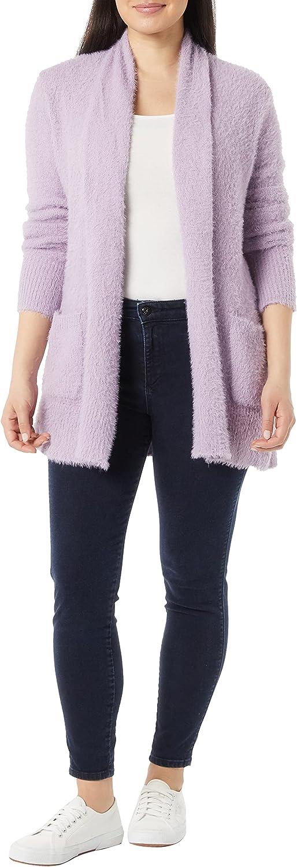 AmeriMark Women's Eyelash Cardigan Sweater
