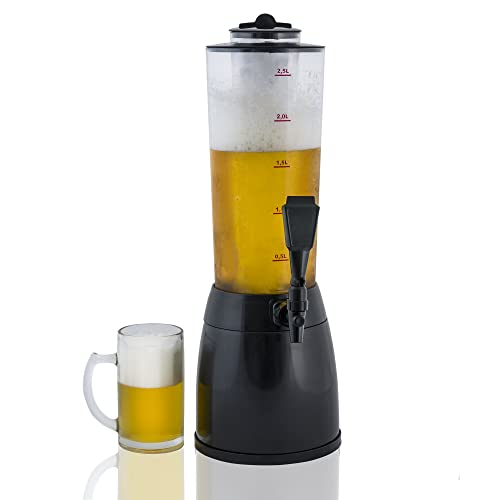 Gadgy ® Dispensador de Cerveza | 3,6 L. Bebidas Drink Dispenser | Compartimiento