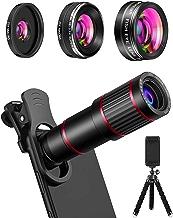 MACTREM Phone Camera Lens Phone Lens Kit 9 in 1, 20X...