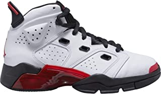 Jordan Boys' Big Kids 6-17-23 (GS) 428818-100 White/Gym Red-Black