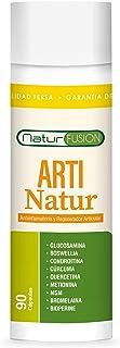 Potente Cúrcuma + Condroitina + Glucosamina + Bioperina Pura | Elimina dolores en músculos. articulaciones y huesos | Antiinflamatoria Natural con acción analgésica y regeneradora | 90 Caps.