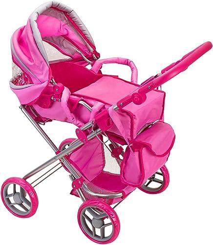 Globo Toys Globo 37368   Bimbo Zusammenklappbar Rollstuhl mit Rack