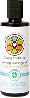 baby mantra calming massage oil