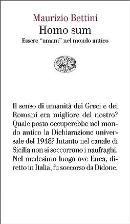 Homo sum: Essere umani nel mondo antico (Vele Vol. 146)