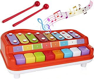 Toysery 2 in 1 Baby Piano Xylophone for Toddlers, Baby...