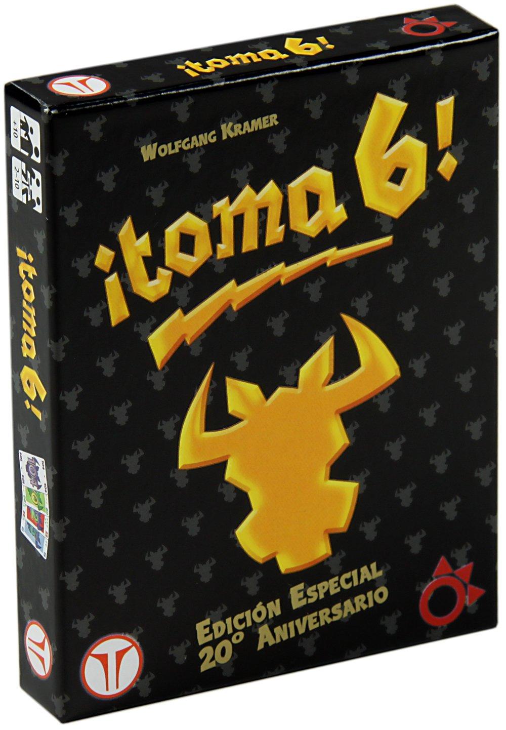 Think Fun - ¡Toma 6!, Juego de Mesa, edición 20 Aniversario (A0029): Amazon.es: Juguetes y juegos
