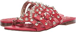 Candy Red Vaquero Saddle Leather