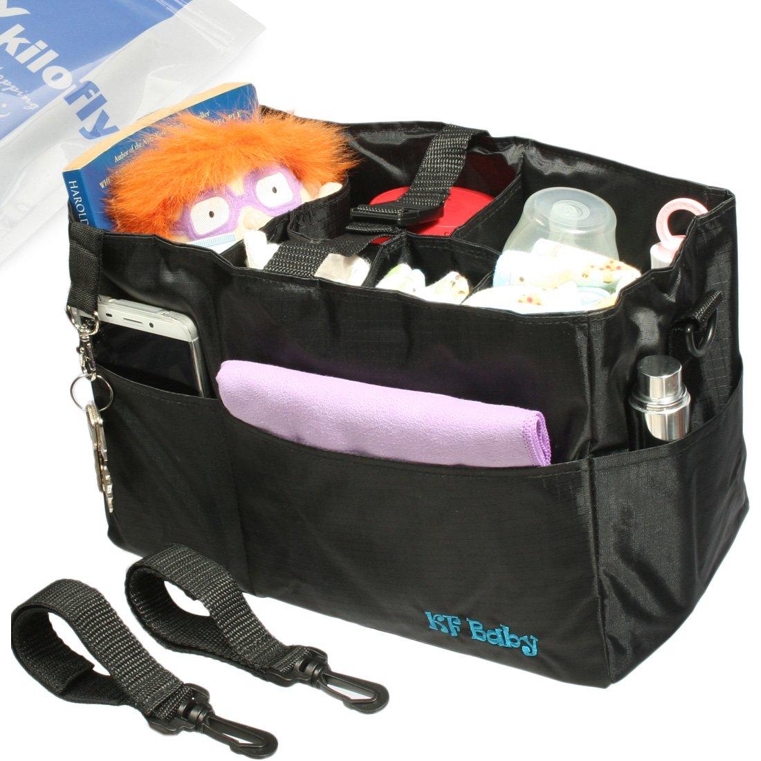 kilofly Diaper Stroller Organizer Attachable
