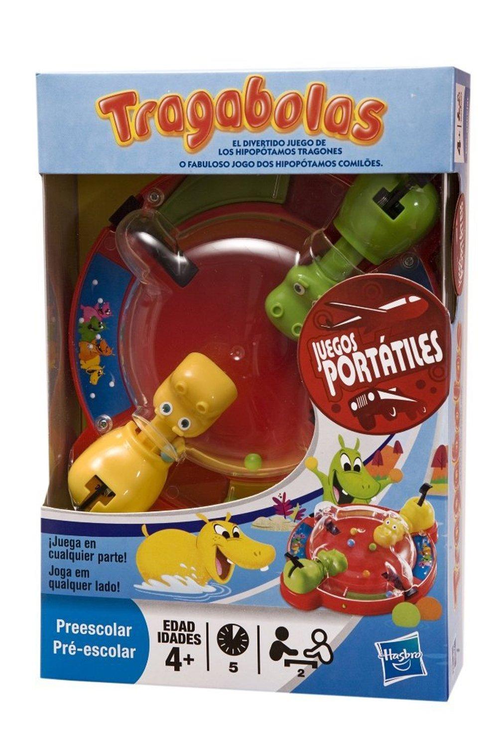 Hasbro Juegos Tragabolas Portatil 27470175: Amazon.es: Juguetes y juegos