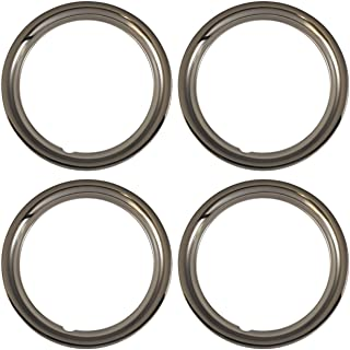 Set of 4 Chrome plated Steel 15