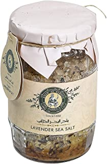 Khan Al Saboun, Organic Lavender Sea Salt, 350gr, Calms, Protects and Detoxifies The Body From Bacteria's, and Diseases, R...