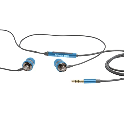 Outdoor Tech Wired Audio Minnows, Electric Blue (OT1140-EB)