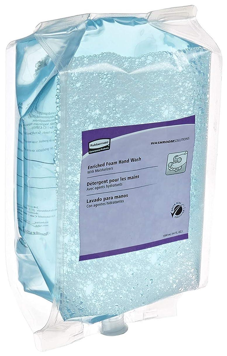 血帰する驚いたことにRubbermaid Flex 3486571 Enriched-Foam Soap Refill 1300mL Vanilla-White Peach 3-Carton