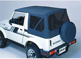 Bestop 51362-15 Black Denim Replace-A-Top Soft Top Clear Windows; No Frame Hardware Included for 1988-1994 Suzuki Sidekick