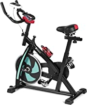Fitnessclub Indoor Cycling Exercise Bike Stationary Bike for Home Cardio Gym with LCD Display, Phone/ipad Holder, 330 lb Max Capacity
