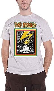 Bad Brains T Shirt Capitol Band Logo 公式 メンズ グレー