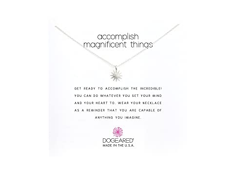 """Accomplish Magnificent Things Necklace 16"""""""