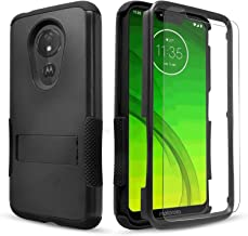 LG Escape Plus Case, LG Arena 2 / LG Prime 2 / K30 2019 Case, Included[Tempered Glass Screen Protector], STARSHOP Drop Protection Dual Layers Phone Cover with Build in Kickstand - Black