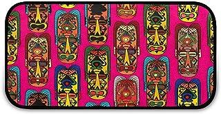 Paillasson ethnique tribal africain facile à nettoyer, dos antidérapant, paillasson d'entrée pour patio, porte d'entrée, g...