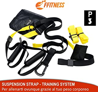 Suspension Strap Fitness Training System. Entrenamiento