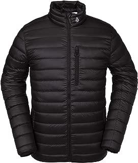 Volcom Men's Puff Give Bubble Goose Nylon Full Down Snow Jacket