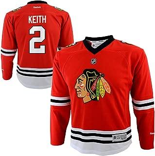 Reebok Duncan Keith Chicago Blackhawks #2 Red NHL Infants 12-24M Home Jersey