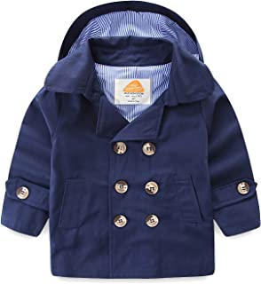 Mud Kingdom Boys Coats with Removable Hood