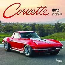 Corvette - 2017 Mini Calendar 7 x 7in