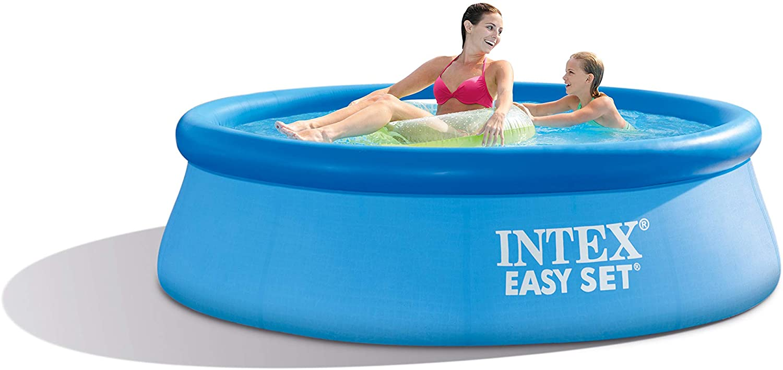 Amazon Com Intex 8ft X 30in Easy Set Pool Set With Filter Pump Garden Outdoor