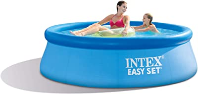 Summer Waves 10ft X 30in Quick Set Inflatable Above Ground Pool With Filter Pump Garden Outdoor