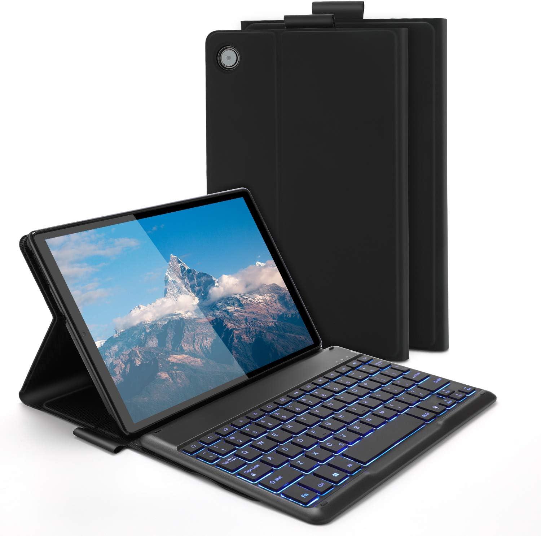 Backlit Bluetooth Keyboard Case for Lenovo Tab M10 Plus 10.3