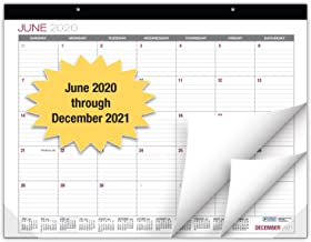 "Professional Desk Calendar 2020-2021: Large Monthly Pages - 22""x17"" - Runs from June 2020 Through December 2021 - Desk/Wal..."