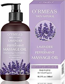 Huile de Massage pour Réchauffer, Détendre, Masser, Huile de Massage Sensuelle pour Soulager des Douleurs Articulaires, Hu...