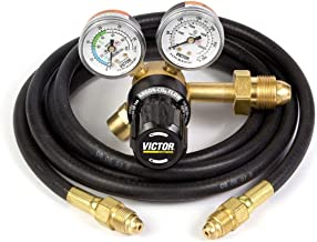 Genuine Victor G150-60-580 Argon Regulator with Hose, 0781-4236