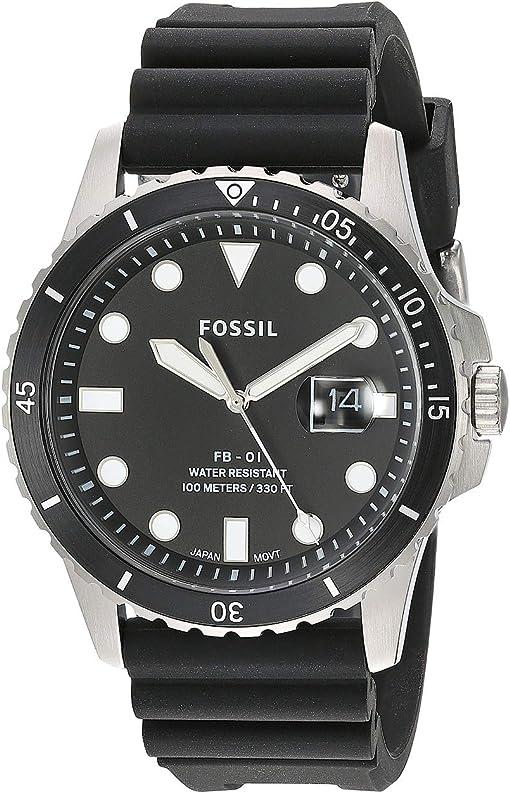 FS5660 Silver Black Silicone
