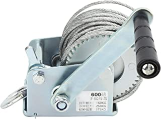 Hand Winch, Manual Lifting Sling Tool Lifting Sling Tool Reliable for Industrial Supplies