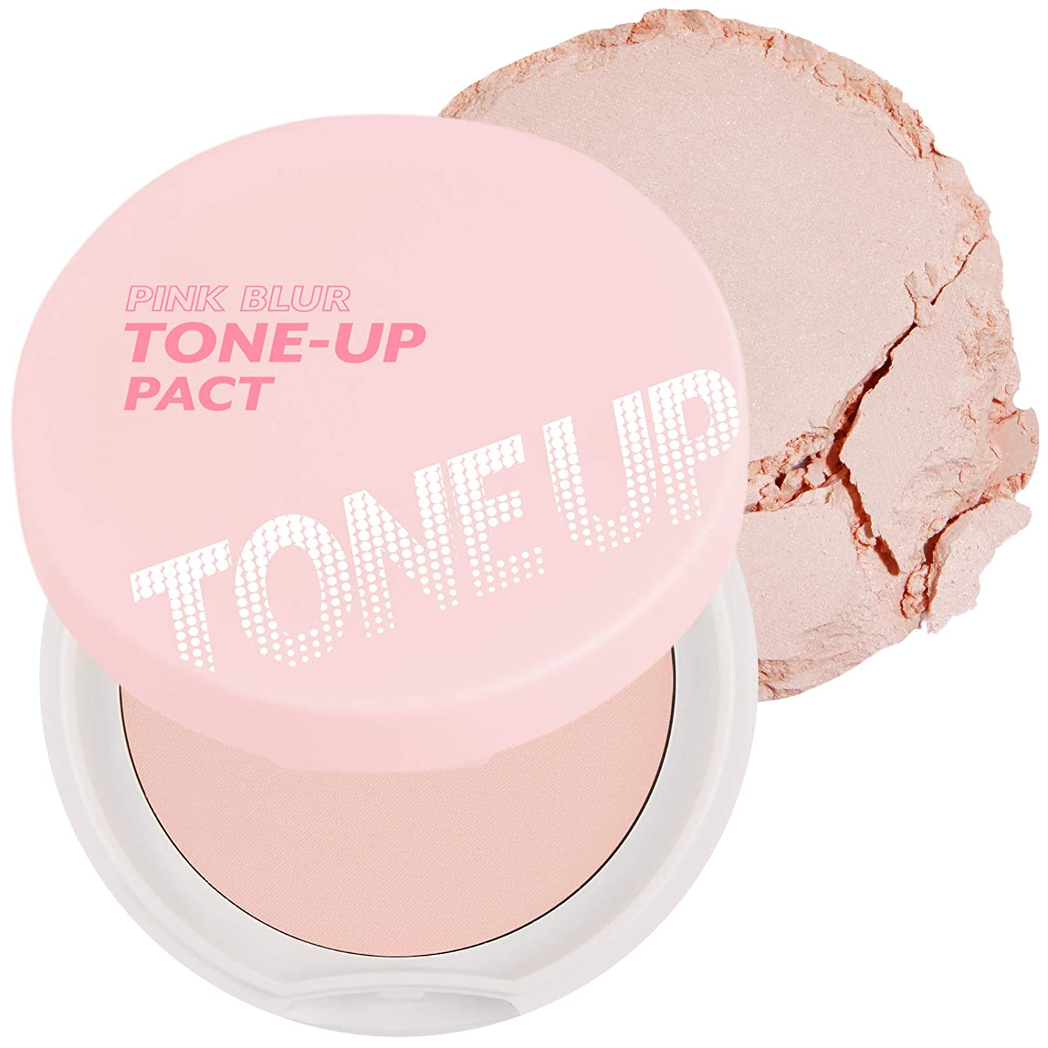 I'M MEME Pink Blur Tone-up Pact Pressed to Detroit Max 46% OFF Mall Powder