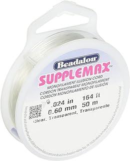 Beadalon - SuppleMax Stringing Cord - .6 mm - Clear