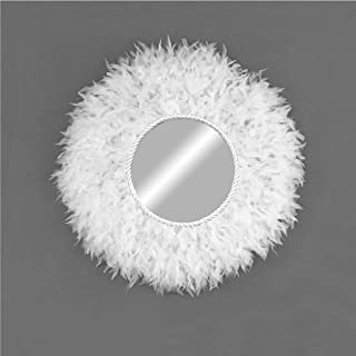 Juju hat espejo blanco - Juju Mirror para decoración en pared estilo nórdico