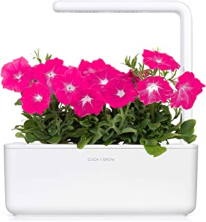 Grow Smart Greens Click & Grow Smart Garden 3 with Pink Petunia 3-Pack