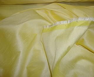"Sunlight Shantung Dupioni Faux Silk Fabric By the Yard 58"" Wide"
