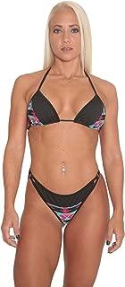 Aztec Print Cheeky Bottom Bikini Set (X-Small)