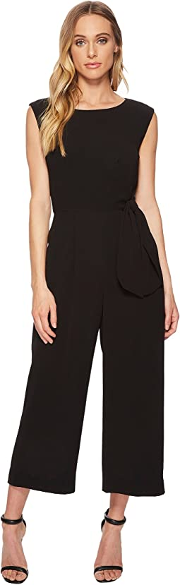 Side Tie Culotte Jumpsuit