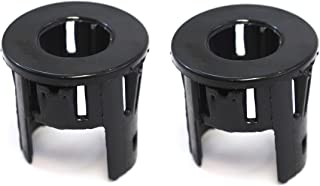 Red Hound Auto 2 Parking Assist Sensor Bezels for Outer Bumper Compatible with Dodge Ram 1500 2014-2018, 1500 Classic 2019 (for Front or Rear Bumper) Pair Set