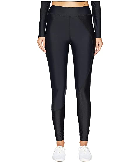 Cushnie Beckett Two-Tone High-Waisted Leggings with Circular Seam