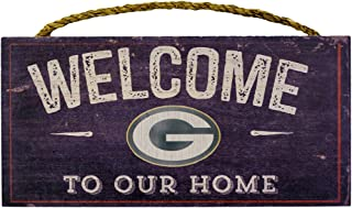 Fan Creations Welcome Green Bay Packers Distressed 6 x 12, 6