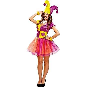 My Other Me - Disfraz de Bufón para mujer, talla M-L (Viving ...