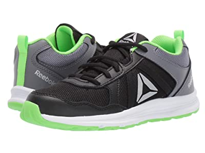 Reebok Kids Almotio 4.0 (Little Kid/Big Kid) (Black/Grey/Green/Silver) Boys Shoes