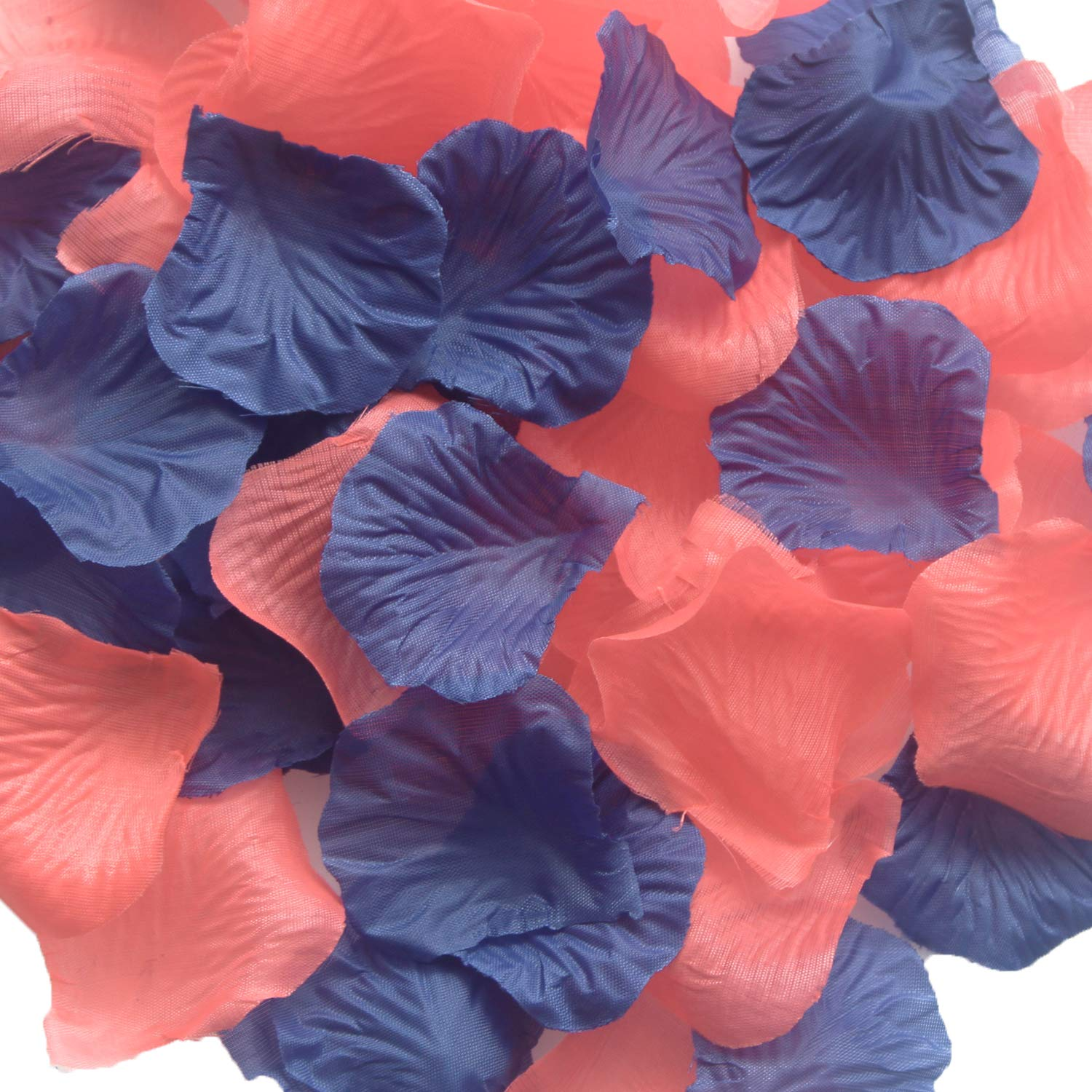 Navy And Coral Wedding Table Decorations  from m.media-amazon.com