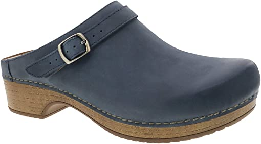 Denim Burnished Nubuck